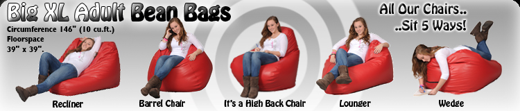 Sensational Really Big Bean Bag Designed For Adults Up To 6 Tall By Squirreltailoven Fun Painted Chair Ideas Images Squirreltailovenorg