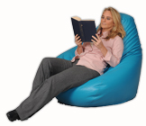 Adult beanbag chair