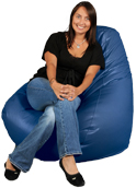 Baltic Blue Adult Beanbag