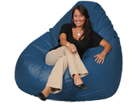 Blatic Blue Giant Bean Bags