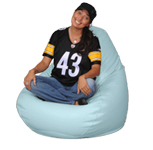 Light Blue Beanbag for Adults