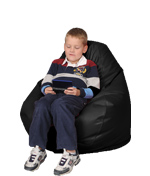 Black Kids Bean Bag Chairs