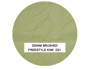 Denim Brushed Freestyle Kiwi Kids Bean Bag Chairs