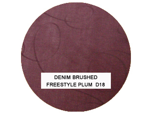 Denim Brushed Freestyle Plum Kids Bean Bag Chairs