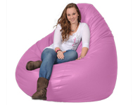 Giant Bean Bag in Fuschia