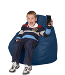 Kids Baltic Blue Bean Bag Chairs