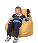Chamois Kids Bean Bag Chairs