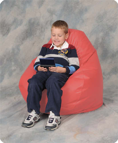 Coral Bean Bag Chairs for Kids