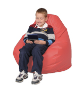 Coral Kids Bean Bag Chairs
