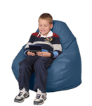 Cornflower Blue Kids Bean Bag Chair Furniture