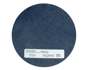 Denim Navy Child Bean Bag Chair
