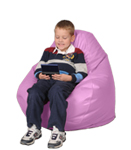 Fuschia Pink Bean Bag Chairs for Kids