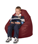 Dark Red Child Bean Bag Chair