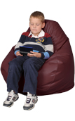 Merlot Kids Bean Bag Chairs