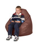 Kid Bean Bag Chair in Mulberry