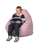 Pink Pearl Kids Bean Bag Chairs