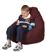 Red Brick Kids Bean Bag Chairs