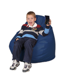 Royal Blue Kids Bean Bags