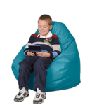 Scuba Blue Kid Bean Bag Chair