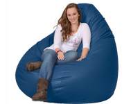 Giant Blue Bean bag
