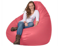 Soft Pink Bean Bag