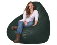 Giant Bean Bag Chair in Holy Green