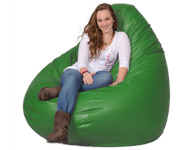 Lime Giant Bean Bag