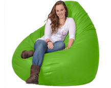 Monster Lime Green Bean Bag Chair