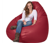 Huge Red Bean Bag Chair