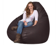 Great Big Brown Safari Bean Bag Chair