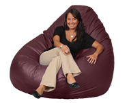Gigantic Red Beanbag Chair