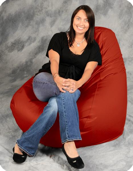 Brilliant Big Red Bean Bag Chair Bean Bag City Uwap Interior Chair Design Uwaporg