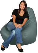Seafoam Green Adult Beanbag