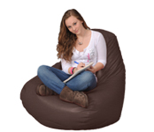 Beanbag Chairs in Brown
