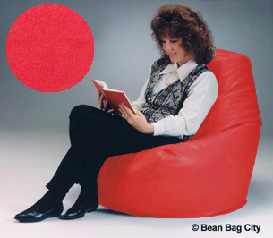 Red Large Beanbag Chair