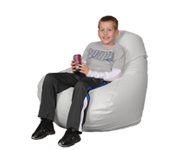 White Large Bean Bag