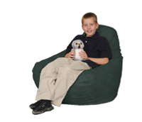 Great green beanbag chair