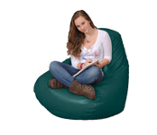 Large Green Bean Bag