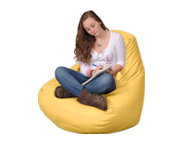 Large Lemon Bean Bag Chair