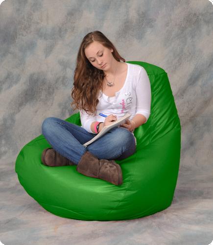 Large Lime Green Bean Bag Chair Bean Bag City