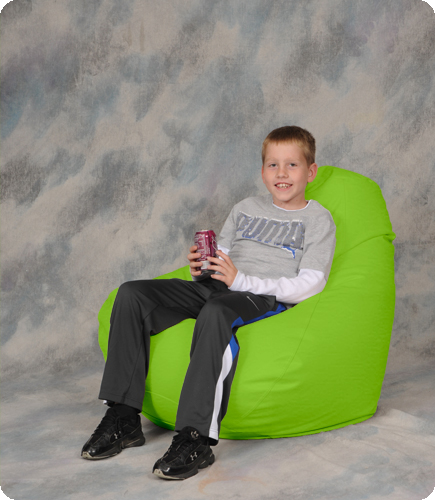 Bon Neon Green Bean Bag Chair