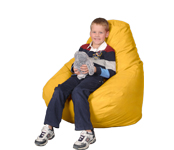 Large Yellow Beanbag chair
