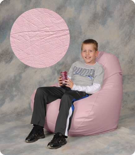 Large Pink Bean Bag Chair