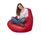 Large Red Beanbag Chairs