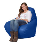 Cobalt Blue Bean Bag Chairs for Adults
