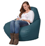 Deep Teal  Bean Bag Chairs for Adults