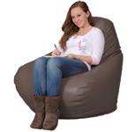 Brown Big Bean Bag