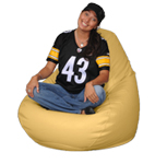 Big Beanbags in Chamois