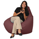 Chili Powder Red Big XL Adult Beanbag