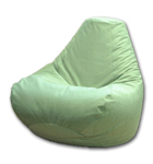 Cloth Beanbag Chair in Green